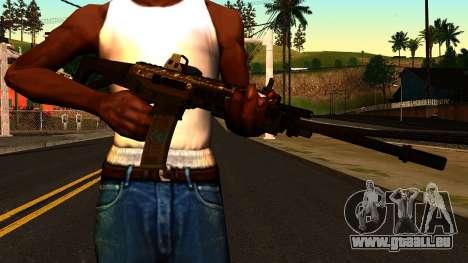 ACW-R from Battlefield 4 für GTA San Andreas dritten Screenshot