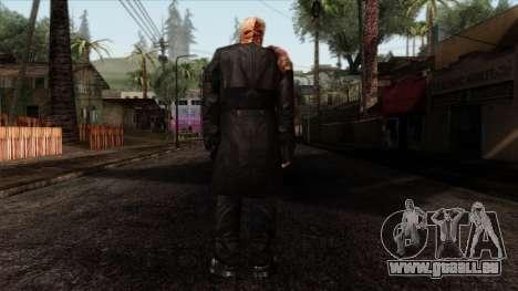 Resident Evil Skin 9 pour GTA San Andreas deuxième écran