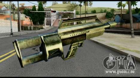 Jackhammer from Max Payne pour GTA San Andreas deuxième écran