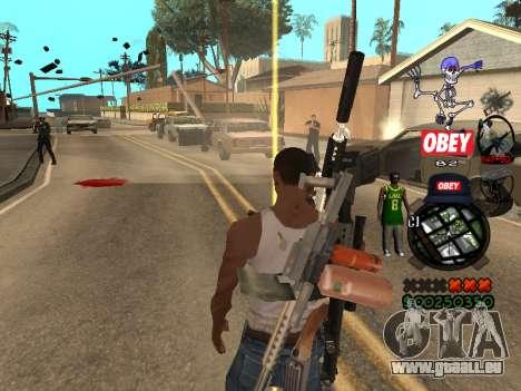 C-HUD Sweet für GTA San Andreas
