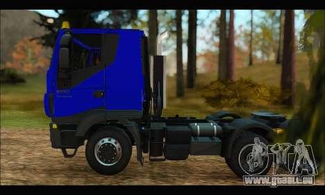 Iveco Trakker 2014 pour GTA San Andreas laissé vue