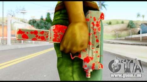 Micro SMG with Blood für GTA San Andreas dritten Screenshot