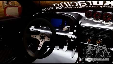 Mazda RX-7 FC35 Hoonigan pour GTA San Andreas sur la vue arrière gauche