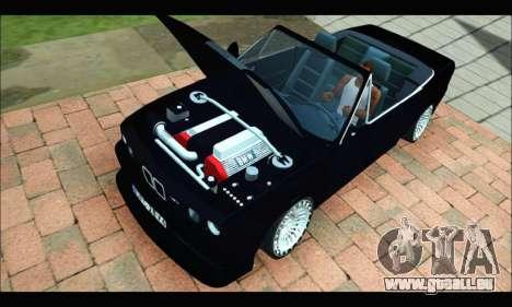 BMW M3 E30 für GTA San Andreas linke Ansicht