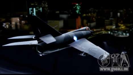 Dassault Etendard IV MF pour GTA San Andreas laissé vue