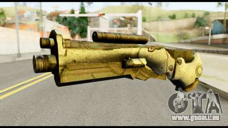 Plasmagun from Metal Gear Solid pour GTA San Andreas