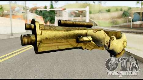 Plasmagun from Metal Gear Solid für GTA San Andreas