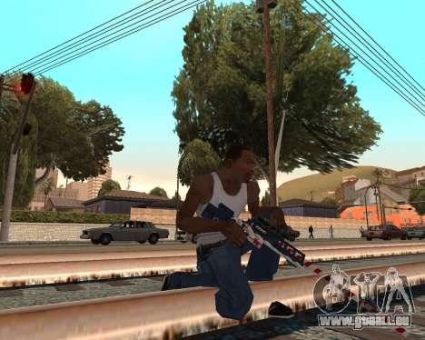 Neues Jahr-Waffen-pack v2 für GTA San Andreas zweiten Screenshot