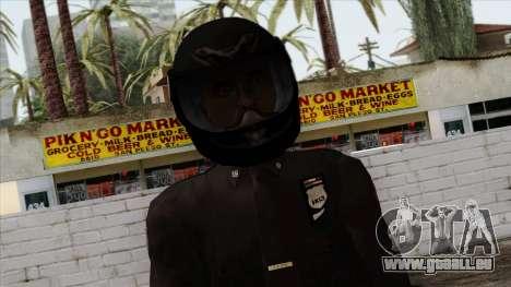 GTA 4 Skin 40 pour GTA San Andreas troisième écran