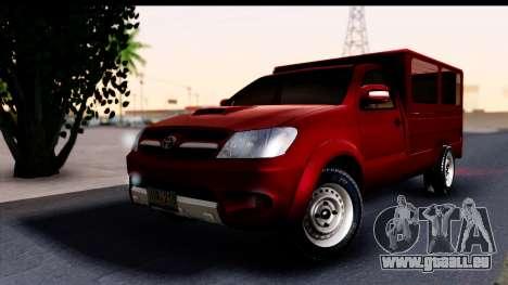 Toyota Hilux FB pour GTA San Andreas