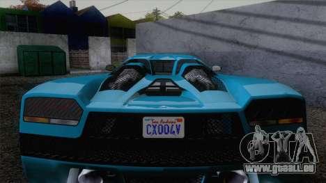 GTA V Overflod Entity XF v.2 pour GTA San Andreas vue de droite