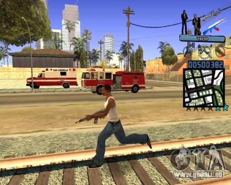 C-HUD Russian Mafia für GTA San Andreas her Screenshot