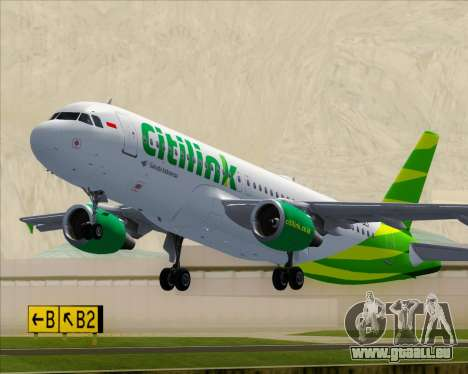Airbus A320-200 Citilink pour GTA San Andreas