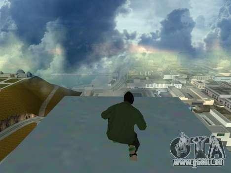 Ryder Skin Grove St. Family pour GTA San Andreas quatrième écran