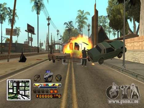 C-HUD Farbe (verbessert) für GTA San Andreas fünften Screenshot