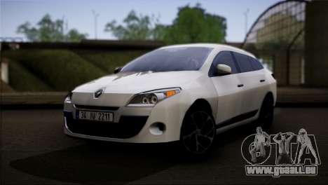 Renault Megane Sport Tourer 1.5 DCI 2011 pour GTA San Andreas