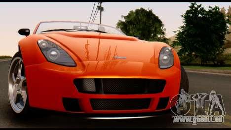 GTA 5 Dewbauchee Rapid GT Cabrio [IVF] für GTA San Andreas rechten Ansicht