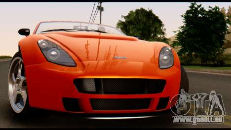 GTA 5 Dewbauchee Rapid GT Cabrio [IVF] pour GTA San Andreas vue de droite