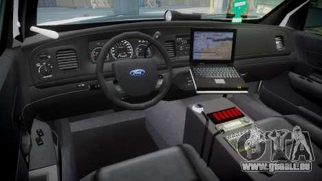 Ford Crown Victoria Martin County Sheriff [ELS] für GTA 4 Rückansicht