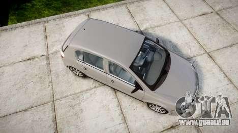 Vauxhall Astra 2009 Police [ELS] Unmarked pour GTA 4 est un droit
