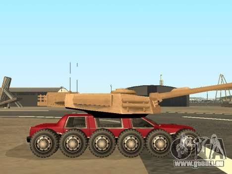 Tink Tank pour GTA San Andreas vue arrière