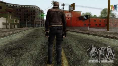 Resident Evil Skin 5 pour GTA San Andreas deuxième écran