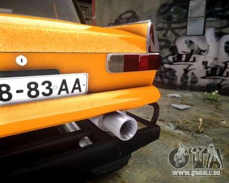 Moskwitsch 412 Monster für GTA 4 Innenansicht
