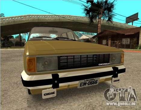 Chevrolet Opala 1980 pour GTA San Andreas vue de droite