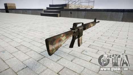 Die M16A2 Gewehr berlin für GTA 4 Sekunden Bildschirm