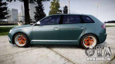 Audi RS3 Stanced für GTA 4 linke Ansicht