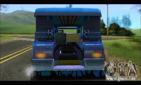Jeepney Morales pour GTA San Andreas vue de droite