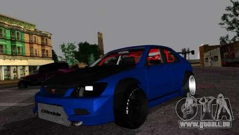 Toyota Altezza DC Hunter für GTA San Andreas
