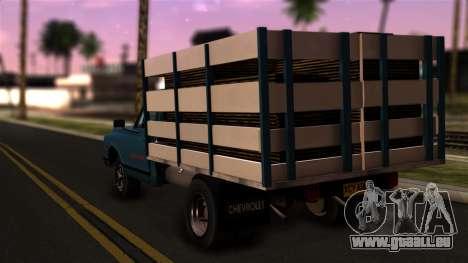 Chevrolet C30 pour GTA San Andreas laissé vue
