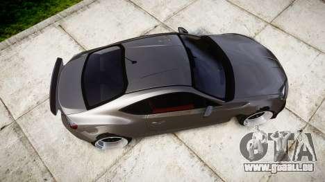 Toyota GT-86 Rocket Bunny Camber pour GTA 4 est un droit
