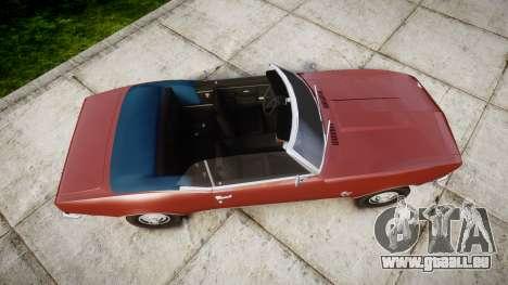 Chevrolet Camaro Mk.I 1968 rims1 pour GTA 4 est un droit
