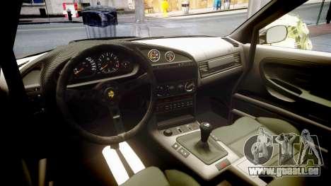 BMW E36 M3 Duck Edition für GTA 4 Seitenansicht