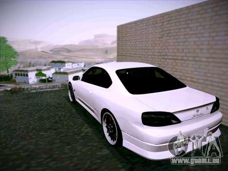 Nissan Silvia S15 Roux pour GTA San Andreas vue de droite