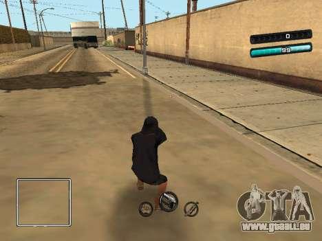 C-HUD Azure für GTA San Andreas dritten Screenshot