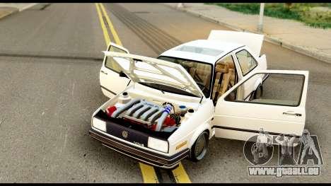 Volkswagen Jetta A2 Coupe pour GTA San Andreas vue de droite