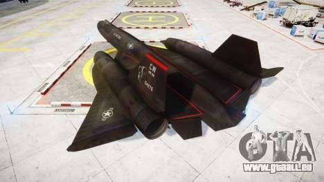 Lockheed SR-71 Blackbird für GTA 4 linke Ansicht