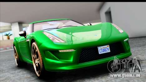 GTA 5 Grotti Carbonizzare v3 SA Mobile für GTA San Andreas