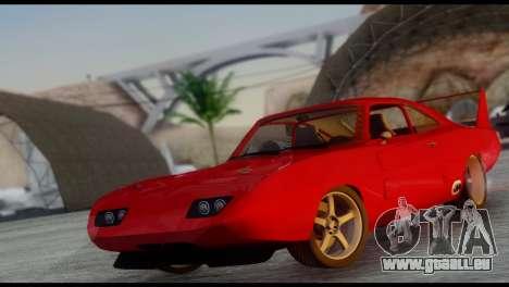 Dodge Charger Daytona für GTA San Andreas