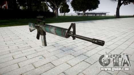Die M16A2 Gewehr [optisch] Warschau für GTA 4