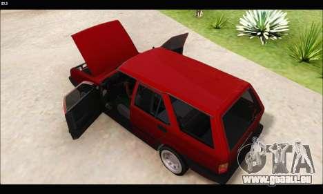 Tofas Kartal (EL 34 5323) pour GTA San Andreas sur la vue arrière gauche