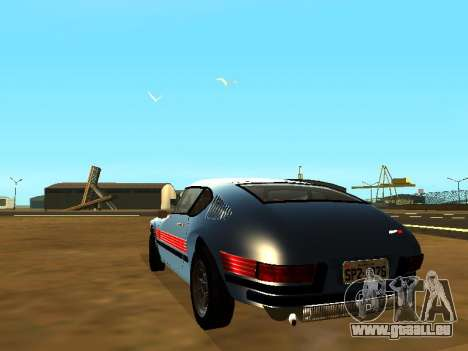 Volkswagen SP2 Original pour GTA San Andreas laissé vue