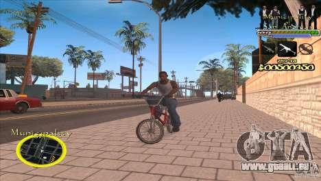 C-HUD für die Regierung für GTA San Andreas