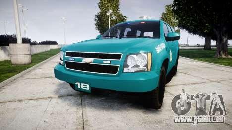 Chevrolet Tahoe 2013 Game Warden [ELS] pour GTA 4