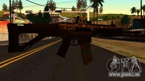 ACW-R from Battlefield 4 für GTA San Andreas zweiten Screenshot