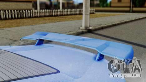 GTA 5 Dewbauchee Massacro Racecar für GTA San Andreas rechten Ansicht