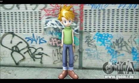 Yamato Ishida (Digimon) für GTA San Andreas dritten Screenshot